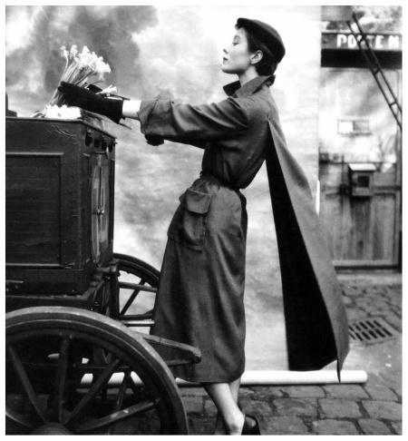 Pierre Balmain, 1950 Photo Henry Clarke