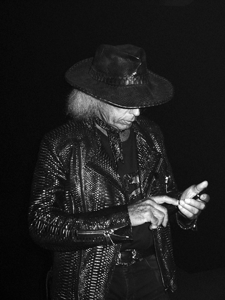 James Goldstein last night at the Gareth Pugh  Lexus Design Presentation