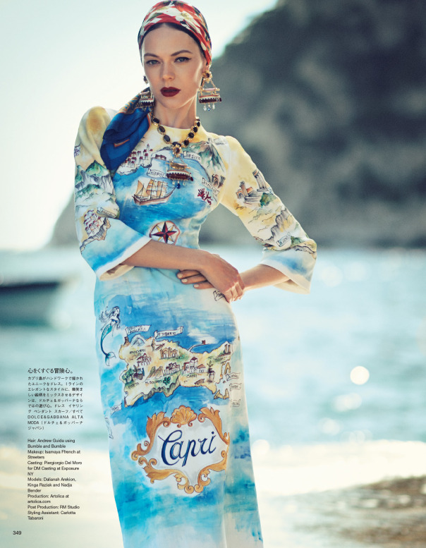 nadja-bender-kinga-rajzak-dalianah-arekion-by-boo-george-for-vogue-japan-october-2014-3