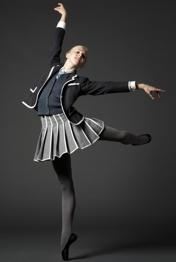 NYCB Dancer Claire Kretzschmar, in Thom Browne