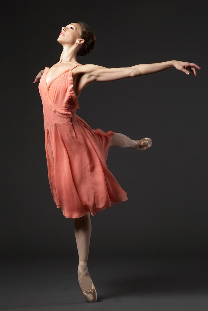 NYCB Principal Dancer Maria Kowroski, in Carolina Herrera