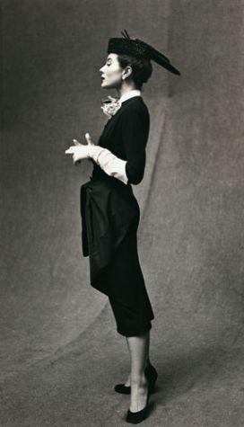 Bettina by Gordon Parks, Paris, 1951