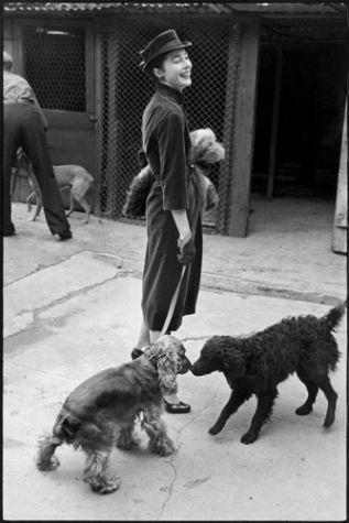 Bettina, Paris, 1951