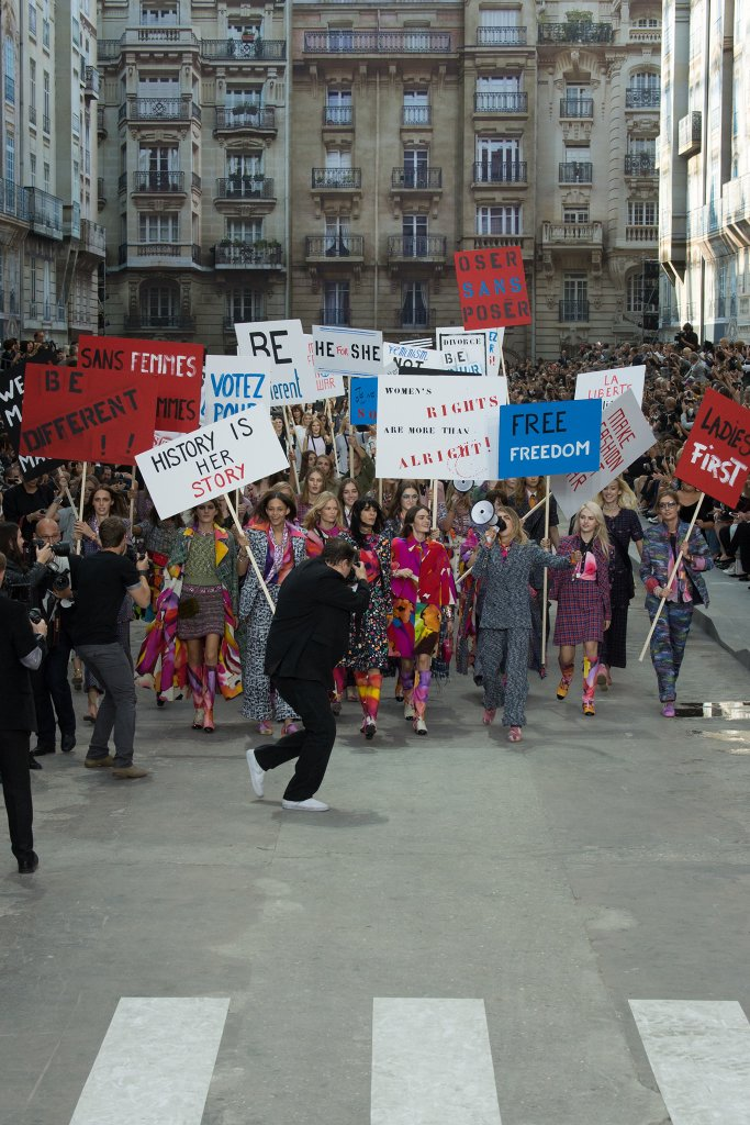''Fashion Feminism'' at Chanel