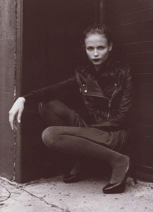 Natasha Poly by David Armstrong for Purple Magazine