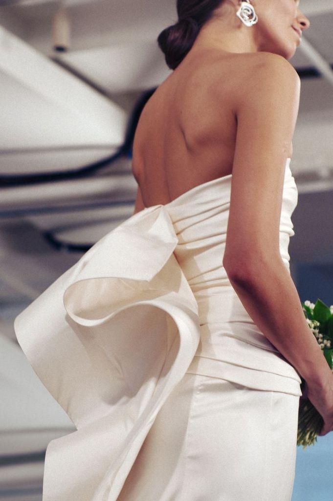 oscar de la renta, bridal 2015
