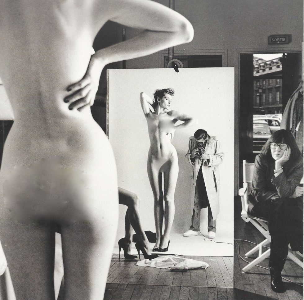 Helmut Newton with his wife and model Sylvia Gobbel