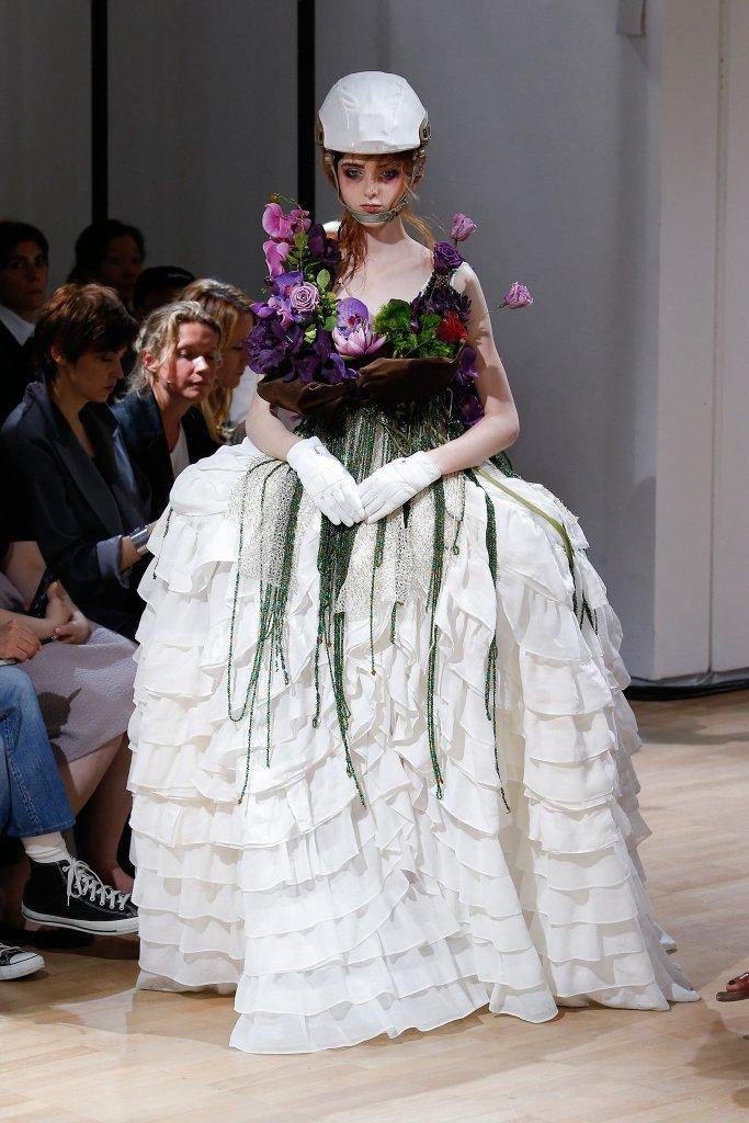 Yohji Yamamoto's bride