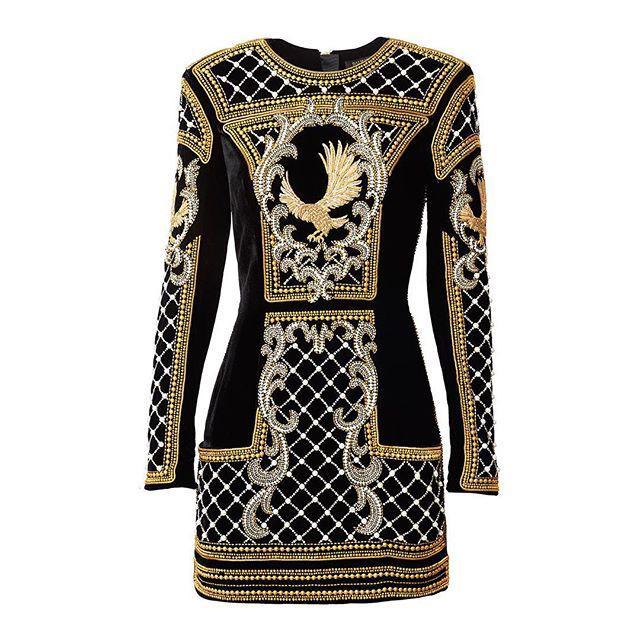balmain-dress