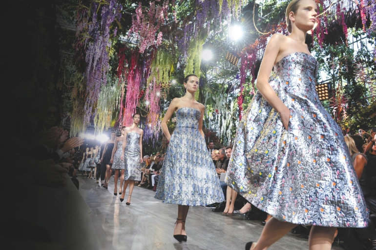 Dior Spring 2014 Paris collection *** Local Caption ***
