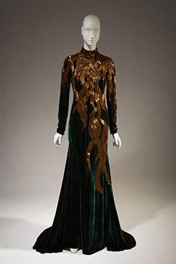 "Alexander McQueen, dress, fall 2007, England. The Museum at FIT, (illustrating ""Rapunzel"")"