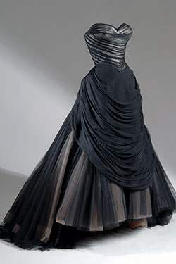 "Charles James, Swan evening dress, 1954-1955, USA. The Museum at FIT (illustrating ""The Swan Maidens"")"