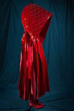 "Comme des Garçons, ensemble, spring 2015, Japan. The Museum at FIT (illustrating ""Little Red Riding Hood"")"