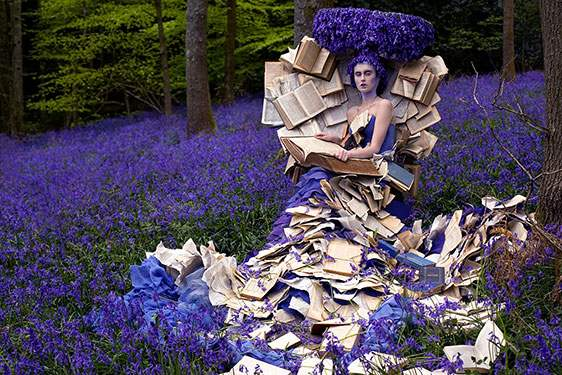 Kirsty Mitchell, The Storyteller, from the Wonderland series. Photograph © Kirsty Mitchell, kirstymitchellphotography.com