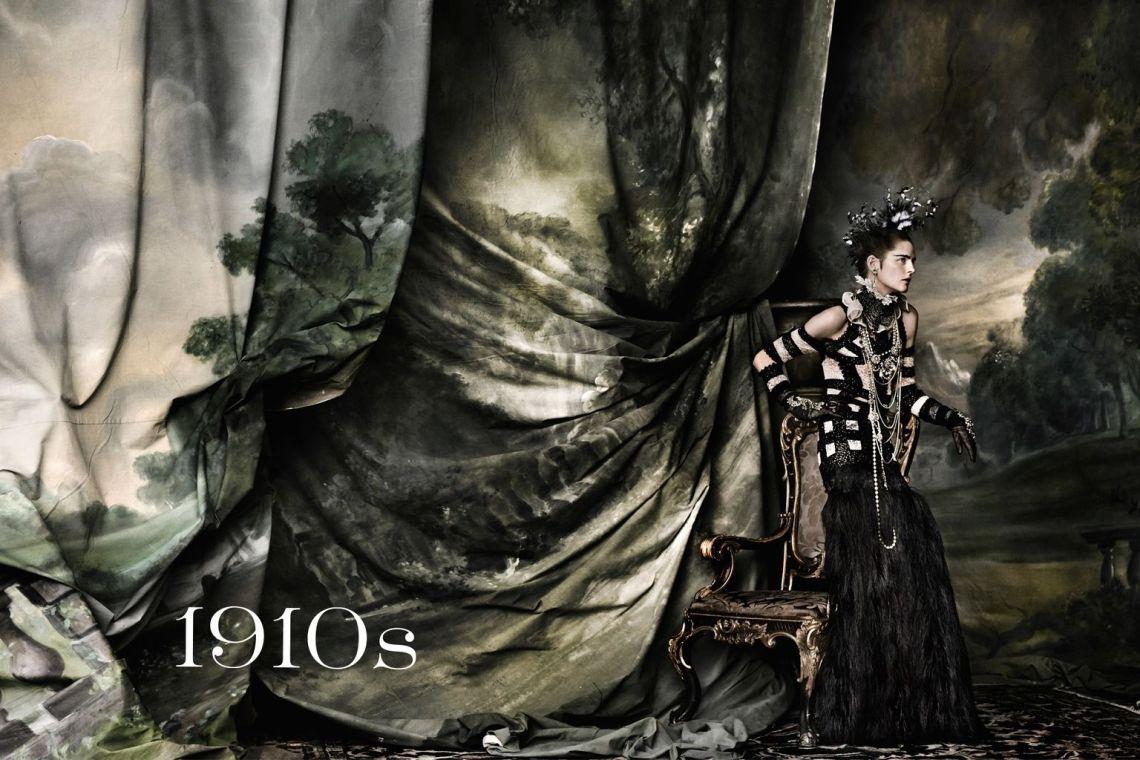 Vogue-UK-June-2016-Decades-1910s-Stella-Tennant-by-Mario-Testino