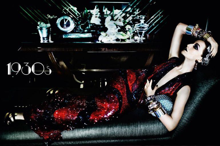 Vogue-UK-June-2016-Decades-1930s-Erin-OConnor-by-Mario-Testino