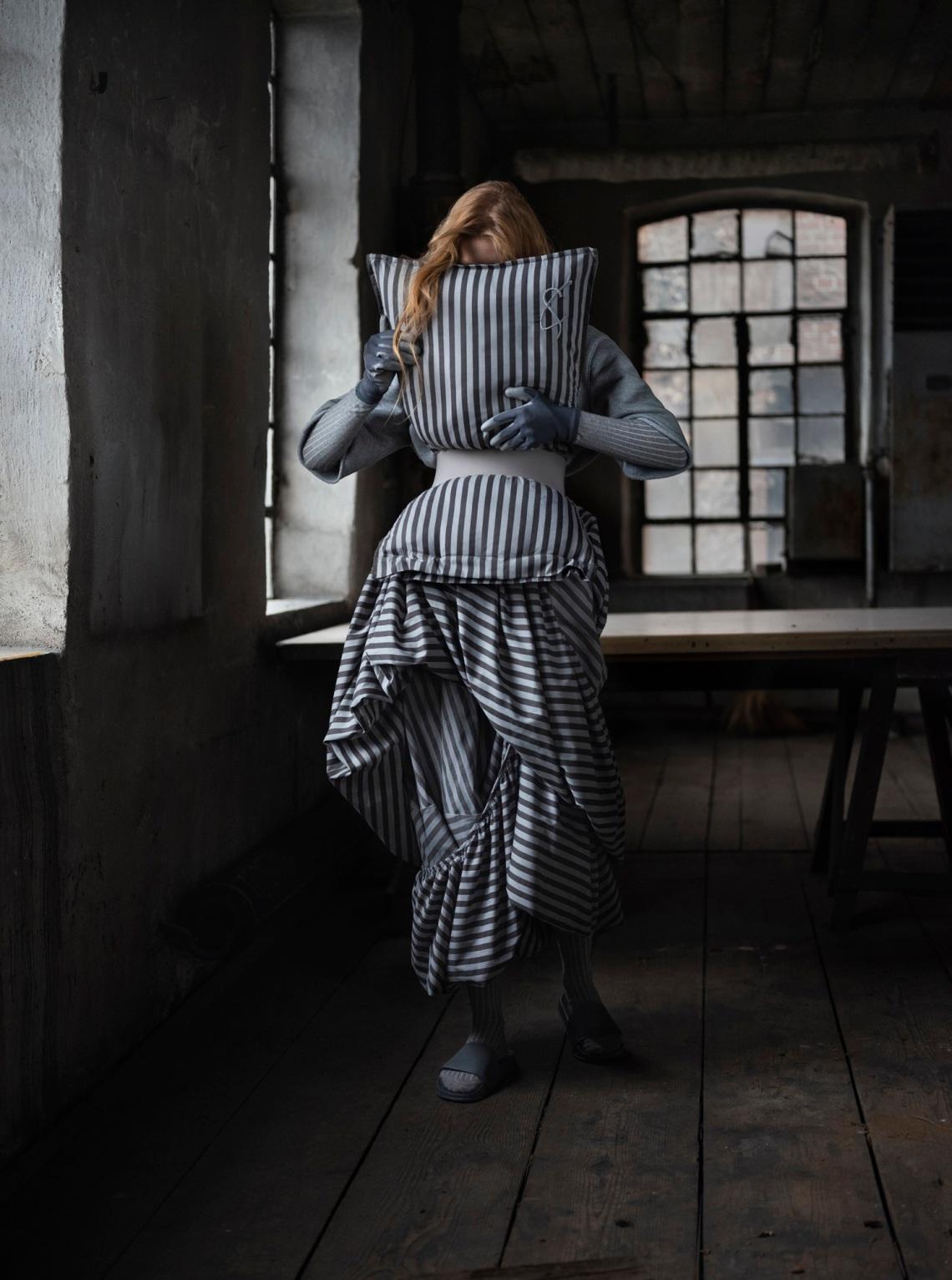Credits -photograpy Rafael Kroetz - model Zoe Herveva - muah Sabine Nania - Art Direction Cunnington & Sanderson