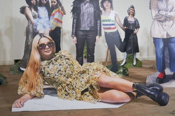 The Ganni exhibition at Copenhagen Fashion Week spring / summer 2021. Courtesy Copenhagen Fashion Week