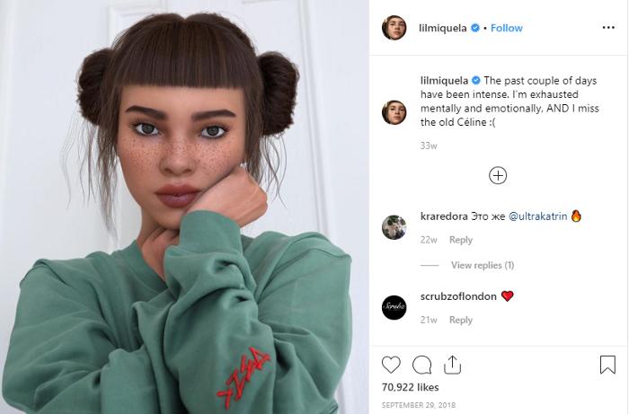 Lil Miquela Instagram
