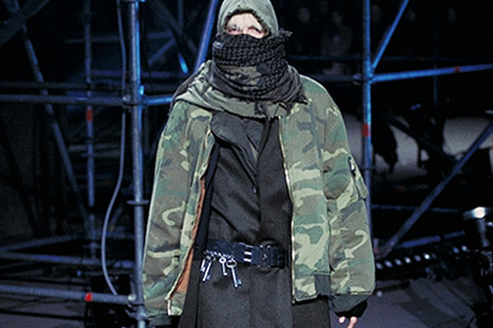 The Style Title Raf Simons FW2001 review