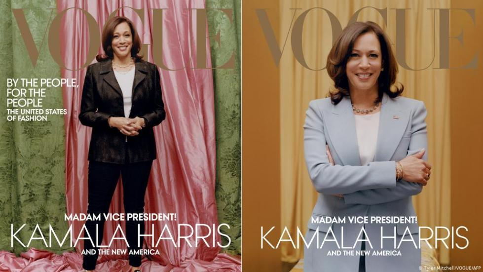 Kamala Harris Vogue US
