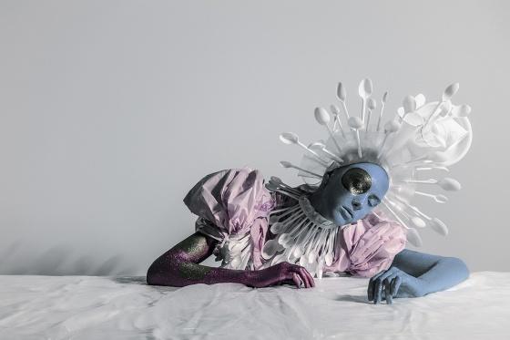 Venera Kazarova turns garbage into couture art