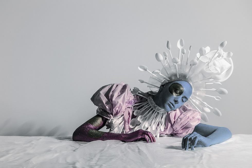 Venera Kazarova turns garbage into couture art