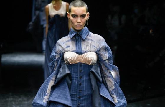 Jean Paul Gaultier x Sacai Couture Fall 2021